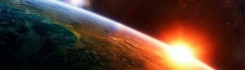 Sun shining on planet Earth and ascendant, dispositor